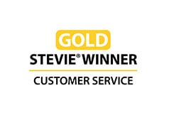 Award-stevie-gold-winner-customer-service